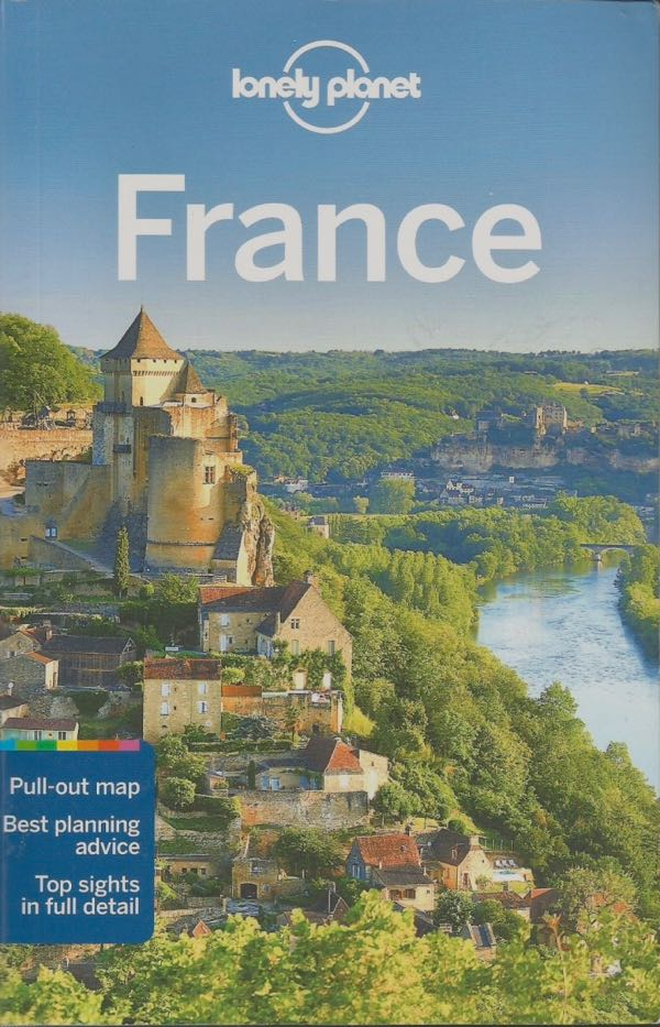 Road Trip in France book: Lonely Planet France