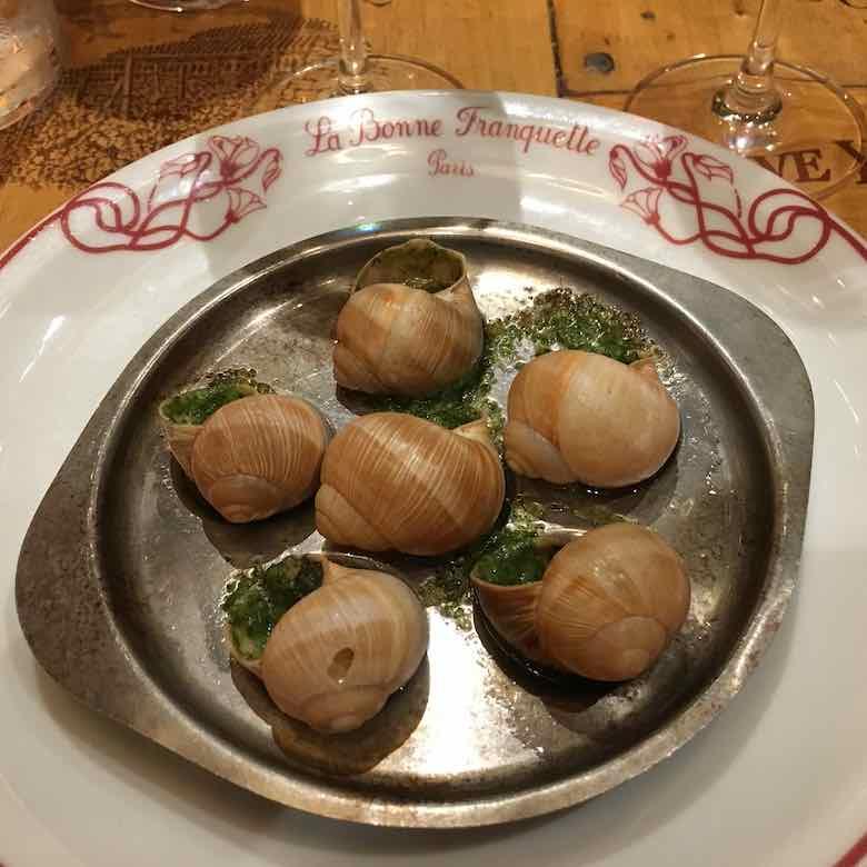 Snails In Garlic Butter-Escargots a la Bourguignonne (J. Chung)
