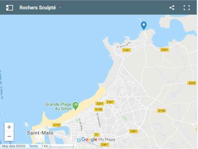 Rochers Sculpte Map