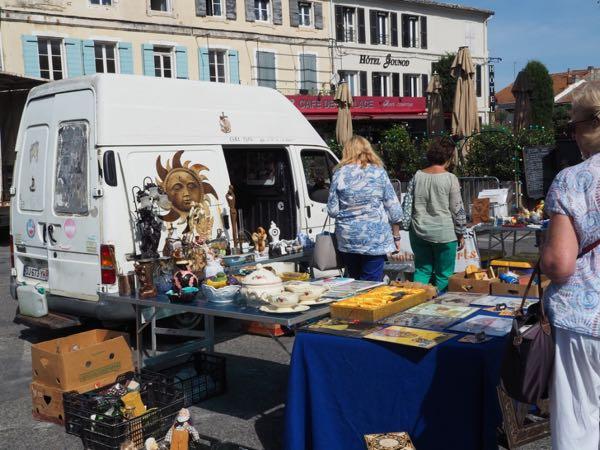 St. Remy Market during Fête de la Transhumance