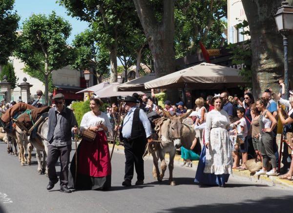 Fête de la Transhumance in St. Remy