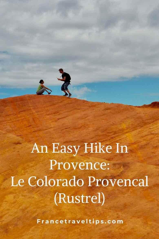 Easy Hike In Provence-Le Colorado Provencal