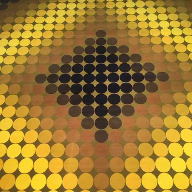 Optical illusions at Fondation Vasarely
