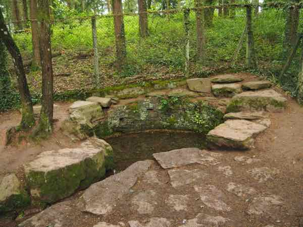 Fountain of Youth: One of the sights exploring King Arthur and the Brocéliande forest legend