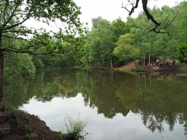 Mirror Lake of The Fairies: one of the sights when you explore King Arthur and the Broceliande forest legend