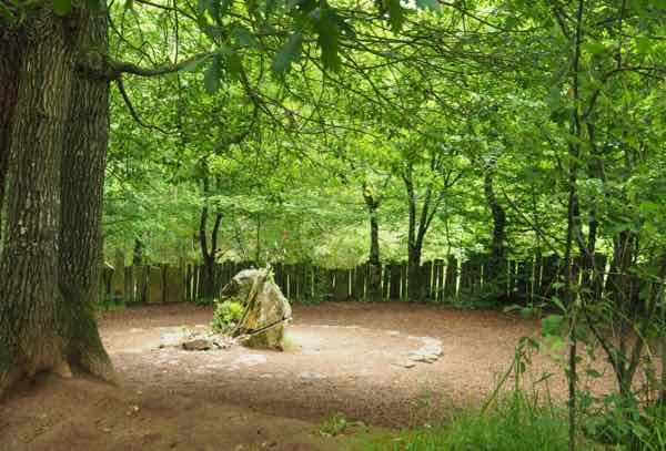 Merlin's tomb at Broceliande: One of the sights to explore King Arthur and the Brocéliande forest legend