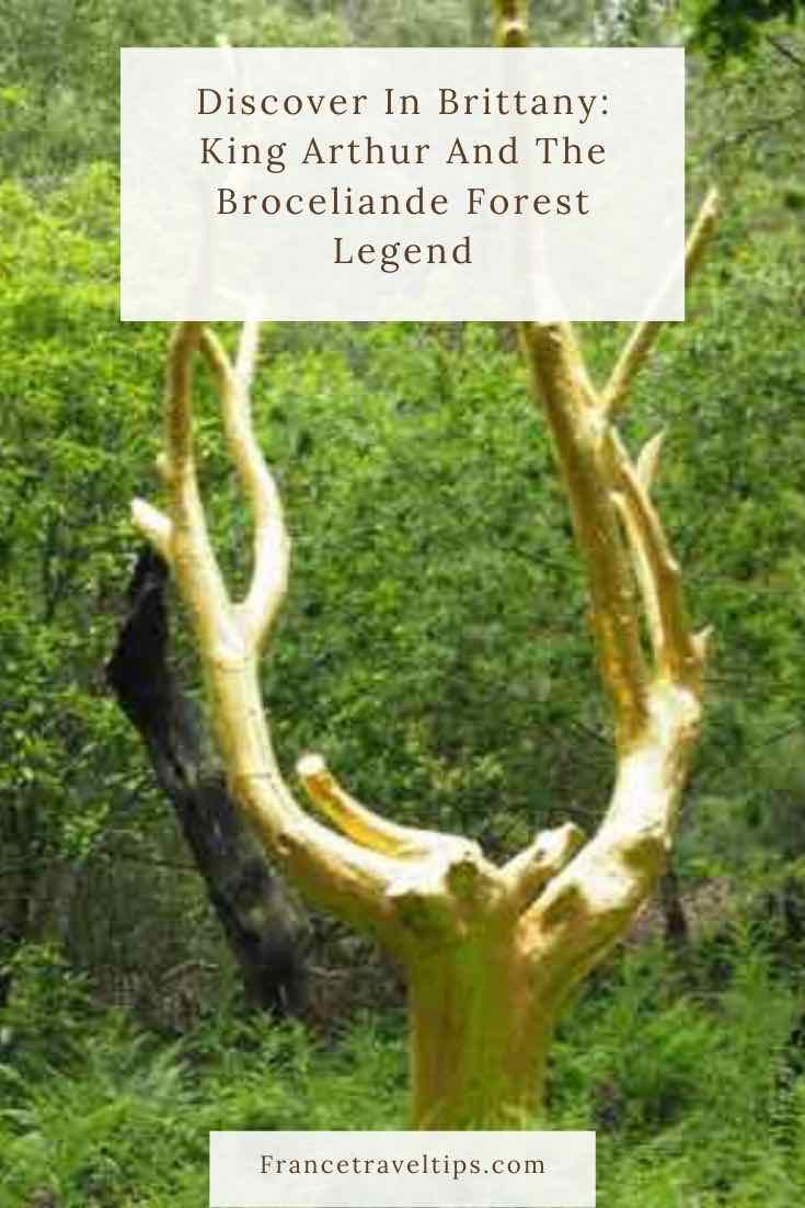 Discover In Brittany- King Arthur And The Broceliande Forest Legend