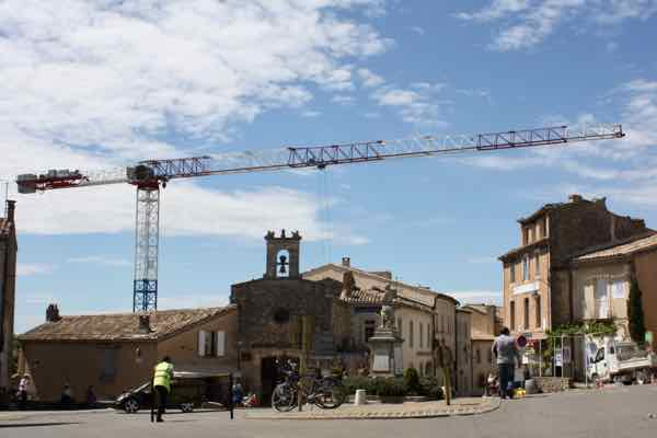Gordes, Provence under construction