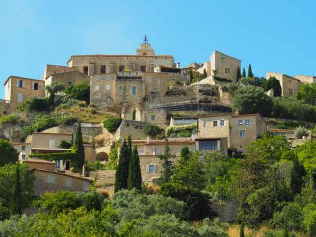 The most beautiful hilltop village In Provence: Gordes