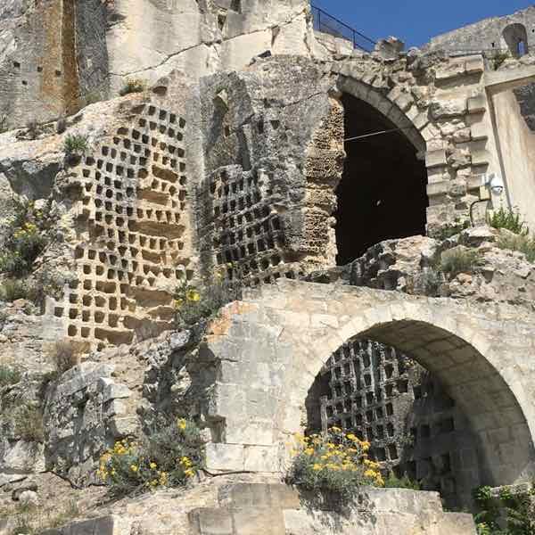Dovecoat at Le Chateau des Baux de Provence
