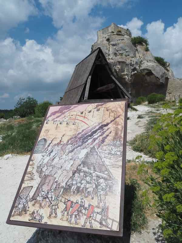 Battering Ram at Les Baux