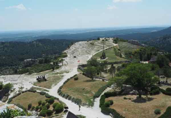 Grounds at Le Chateau des Baux de Provence