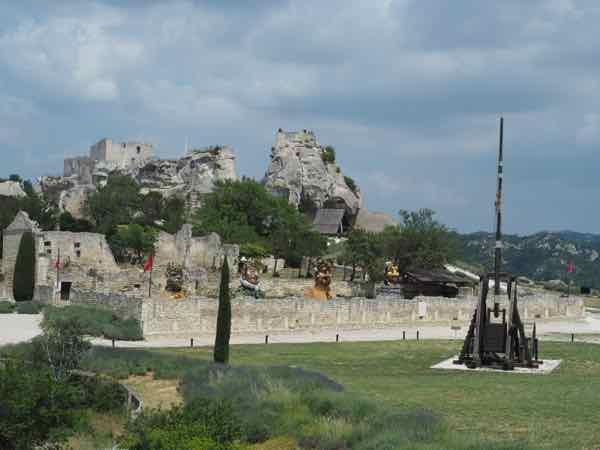 Le Trebuche at Les Baux