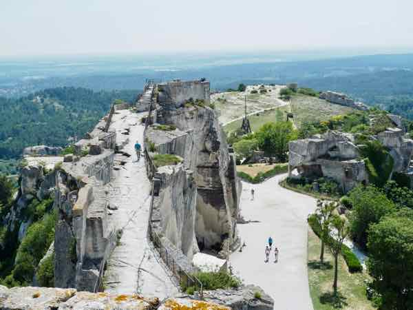 The Saracen Tower at Les Baux