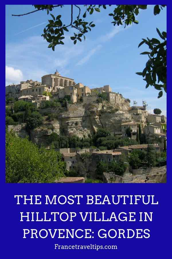 Most Beautiful Hilltop Village In Provence- Gordes