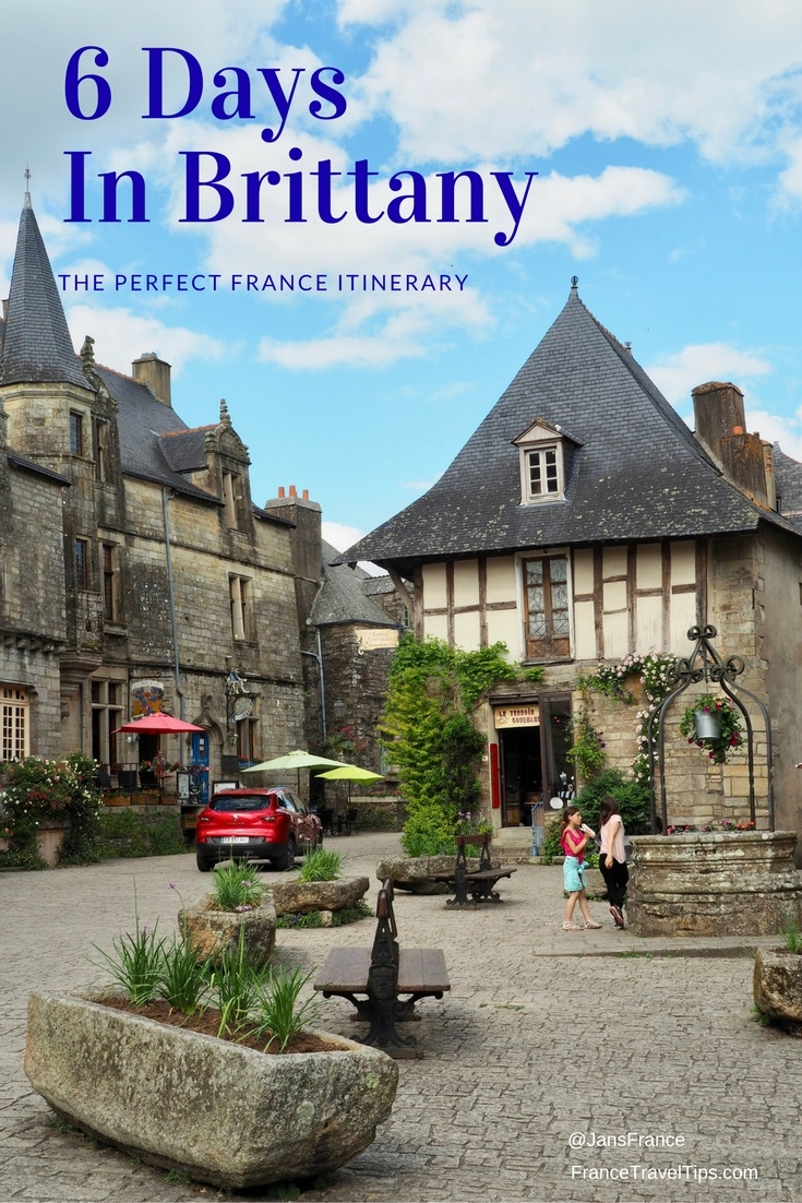 6 Days In Brittany: Itinerary by FranceTravelTips.com