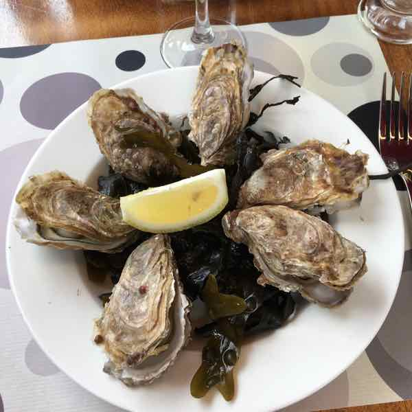 Cancale oysters. J Chung