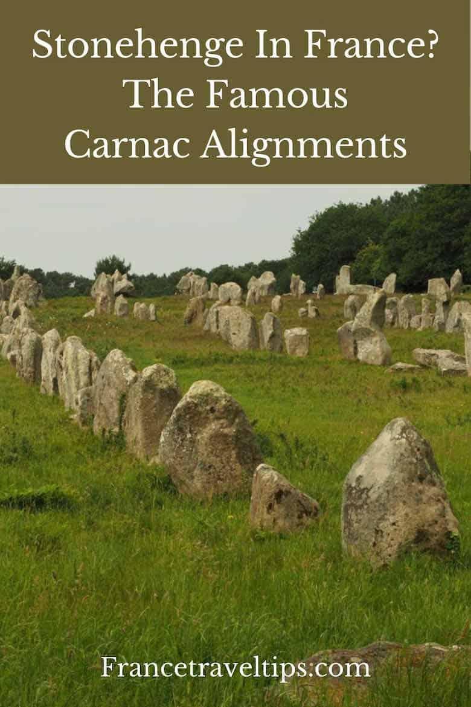 Carnac Alighments