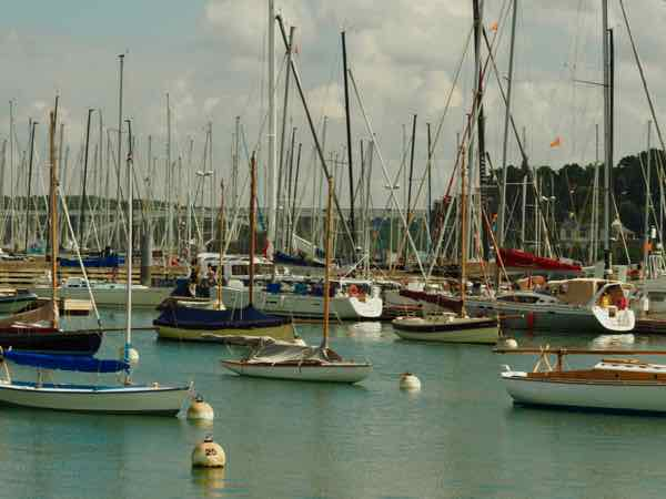Carnac port