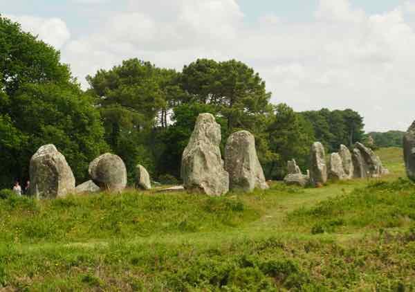 Carnac's standing stones