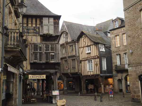 Dinan in Brittany, France. J Chung