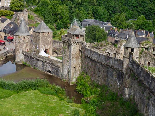 Château de Fougères, Brittany France. J Chung