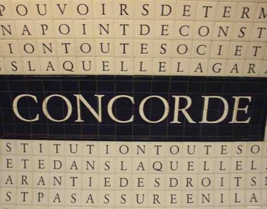 Concorde Metro station, Paris France J Chung