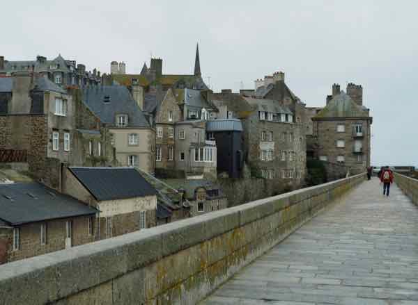 Ramparts at St. Malo. J Chung