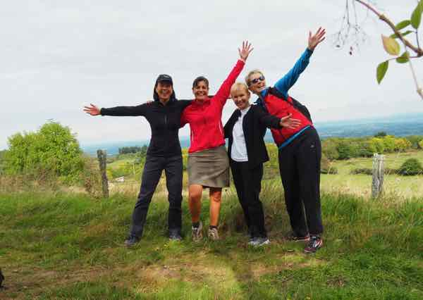 Take a French immersion course in France such as language classes and countryside walks with Ecole des Trois Ponts