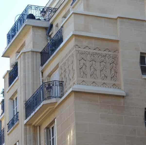 Art deco seen during the Paris Greeters Tour
