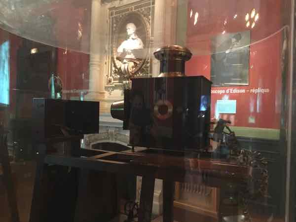 Cinematograph at the Lumiere Museum (J Chung)