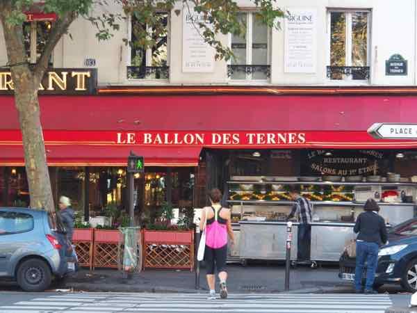 Le Ballon des Ternes Restaurant, Paris (J. Chung)