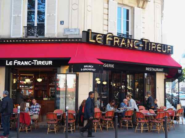 Le Franc-Tireur Restaurant, Paris (J. Chung)