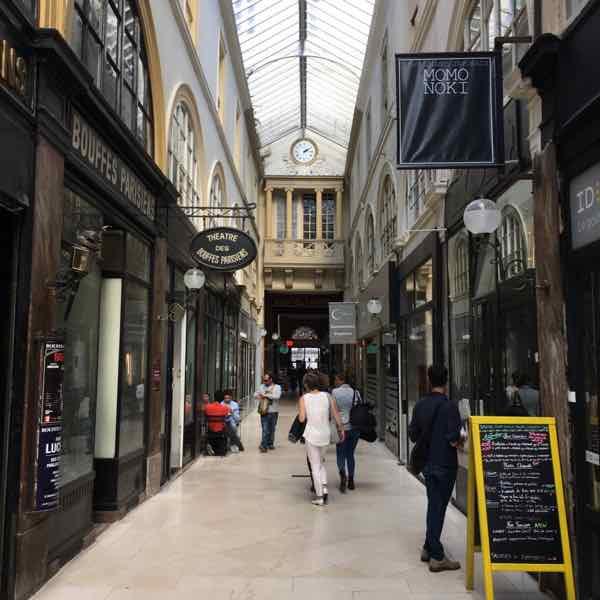 Passage de Choiseul Paris (Photo- J Chung)