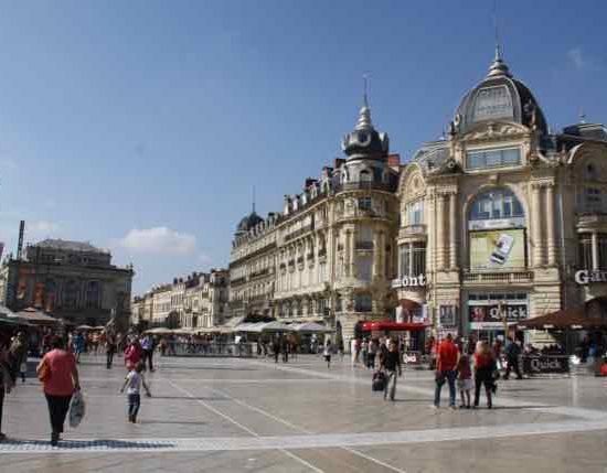 La Place de la Comedie, Montpellier