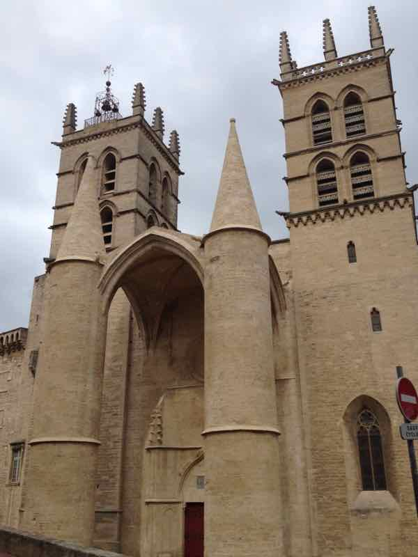 St. Peter's Cathedral and Faculty of Medicine in Montpellier