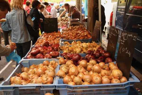 Paysan market in Montpellier