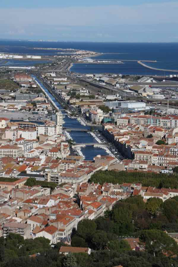 View from Mont St-Clair in Sete