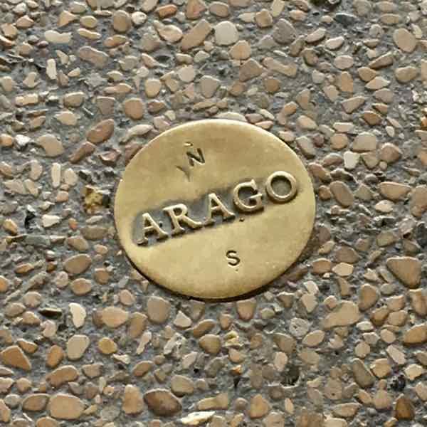 Arago Marker, Paris (J. Chung)