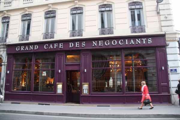Grand Cafe Des Negociants Lyon France