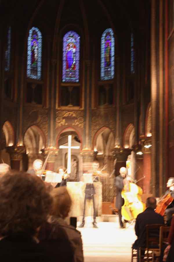 Concert at Eglise de Saint-Germain-des-Pres (J. Chung)