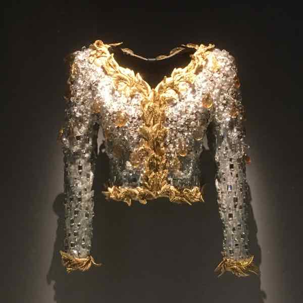 Embroidery at Musée Yves Saint Laurent (J. Chung)
