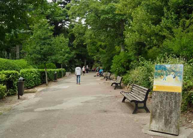 Jardin d'été, Arles (J. Chung)