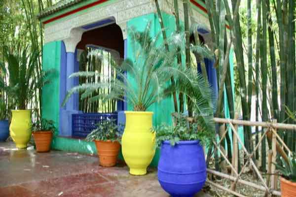 Jardin Majorelle in Marrakesh (J. Chung)