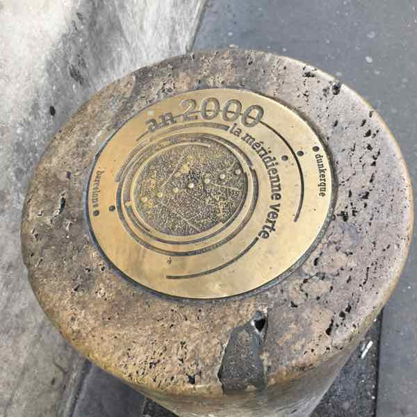 Paris Meridienne Marker (J. Chung)