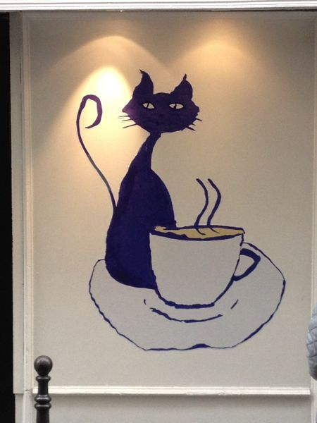 Cafe des Chats, Paris