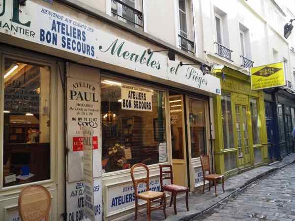 Passage du Chantier, Paris