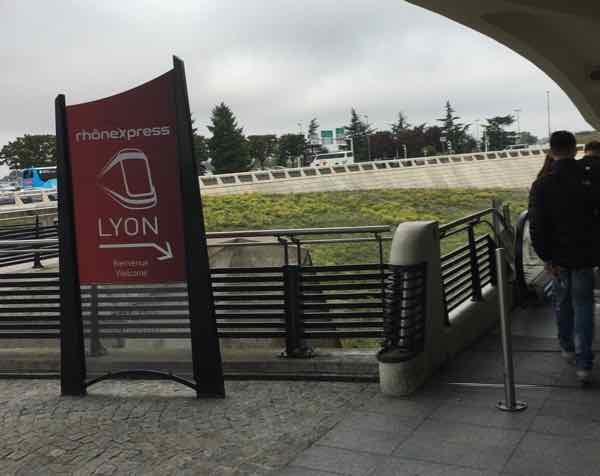 Rhone Express, Lyon