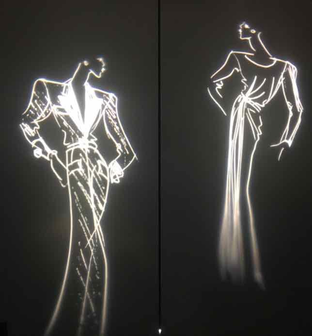 Silhouettes at YSL Museum, Paris