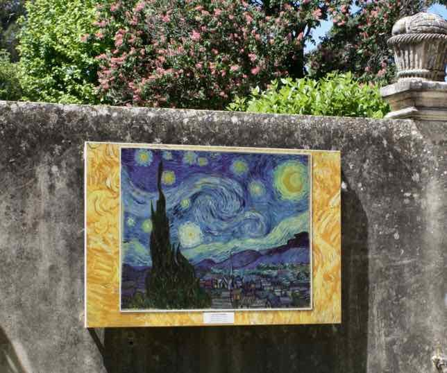 The Starry Night at The Saint-Paul-de-Mausole asylum, St-Remy-de-Provence